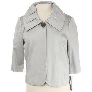NWT Revue Titanium Grey Snap Closure Jacket